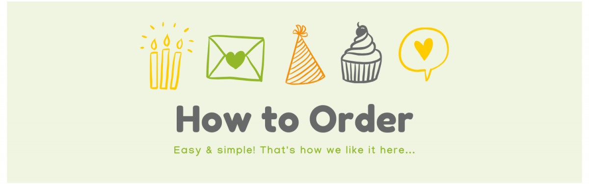 Banner - How to Order